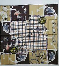 Silk twill scarf  90x90 cm./ 35x35 inches