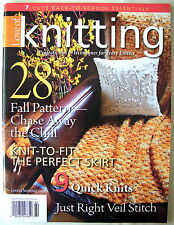 LOVE OF KNITTING Magazine 28 projects - hat scarf tunic cardigans sweaters baby