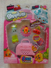 Shopkins NEW Season 4,  5 Pack of Shopkins including 1 Hidden Shopkins