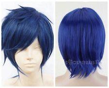 Women/Men Unisex Short Straight Heat Resistant Hair Anime Fashion Cosplay Wigs