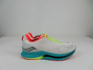 Saucony Endorphin Shift White Mutant Athletic Running Racing Shoes Mens Size 14