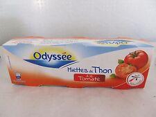 Odyssee Thunfisch Stückchen mit Tomatel, Füllmenge 3x80g / ATG 3x52g =0,156 g