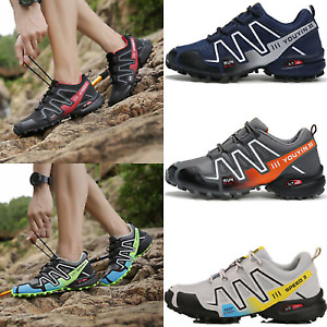 Adults Mens Womens Trail Running Shoes Outdoor Hiking Athletic Sports Sneakers