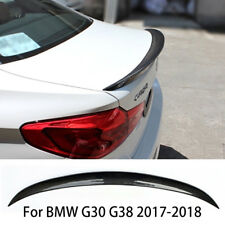 Carbon Fiber Sports P Rear Trunk Boot Spoiler Wing Lip For BMW G30 G38 2017-2018
