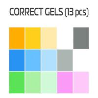 Corrective Lighting LEE-Filters gels 13 pcs Strobe Light Photography