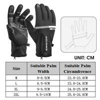 Waterproof Thermal Winter Gloves Touch Screen Warm Men Women Outdoor Ski  ^ Д