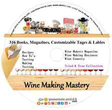 Wine Makers Master Series Dvd Recipes Magazines Book Learn at Home Making Easy