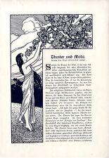 Theater und Mode Mlle.Lepoix Paris Madame Royal Mlle.de Zara u.a.von 1909