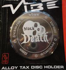 Vibe Audio Noir Mort Logo Magnétique Alliage Porte Vignette Auto Édition Limitée