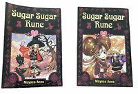 Sugar Sugar Rune 1 & 2 By Moyoco Anno Delrey Manga Lot Of 2 Witch Girls Friends