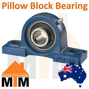Pillow Block Bearing Self Aligning Bottom Foot Mount Housing 12mm-60mm Bore