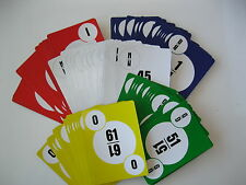 Bingo Calling Cards Deck~No Cage Needed~Great for Trips / Family or Work Parties