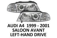 AUDI A4 B5 FRONT HEADLAMPS HEAD LAMP HEADLIGHTS H7 H7 PAIR SALOON AVANT 99-01