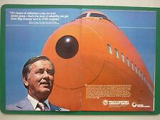 10/78 PUB PRATT & WHITNEY AIRCRAFT JT9D JOHN CASEY BRANIFF AIRLINE BOEING 747 AD
