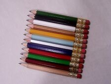 100 Golf Pencils Assorted Colors (No Pinks or Purples)