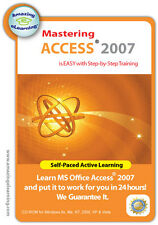 Learn Microsoft  Access 2007 in 8 hours with step-by-step Training Tutorial