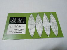 VINTAGE CATALOG #2400 - O.S. MODEL ENGINES - RADIO CONTROL EQUIPMENT
