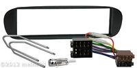 FIAT Barchetta Radio Blende Auto Einbau Rahmen Adapter ISO Entriegelungsbügel