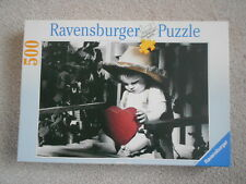 HEARTBOY 500 piece jigsaw puzzle RAVENSBURGER little boy with red heart 1997