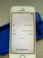 SILVER AT&T 16GB APPLE IPHONE 5S SMART PHONE JK68