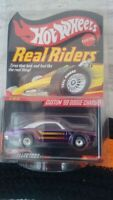 Hot Wheels Collectors.com - Real Riders - Custom '69 Dodge Charger in Protecto