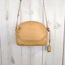 NWT Authentic Frye Campus Zip Leather Crossbody Bag Banana $258