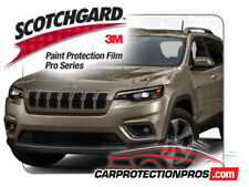 2019 Jeep Cherokee Limited 3M Pro Series Clear Bra Front Bumper Pre Cut Kit