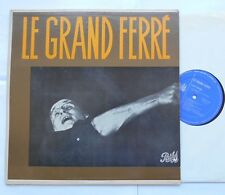 *LEO FERRE Le grand Ferré VG++ to NM- CANADA ORIG '60s Pathé LP FRENCH