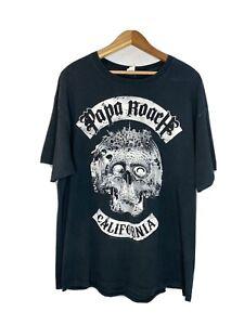 Papa Roach  Come To Papa Black T-shirt Sz XL Print Rock Music