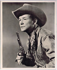 ROY ROGERS Vintage 8x10 Black and White Picture Photograph Print Cowboy Western
