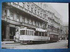 AK Ansichtskarte Postkarte Straßenbahn HAWA Triebwagen TF 20/29 BVG Berlin