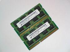 8GB 2x4GB DDR3L-1600 PC3L-12800 1600Mhz 1333 MICRON MEMORIA LAPTOP SODIMM RAM