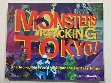 Monsters Are Attacking Tokyo Book Rare! New Condition Godzilla Mothra Gamera