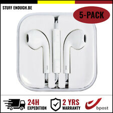 5IN1 IPHONE IPAD IPOD EAR HEAD BUDS PHONES PODS ECOUTEUR - MIC & VOLUME CONTROLS