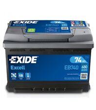 Batterie 12V für Motorwagen und Fahrzeug kommerziell EXIDE Excell 71 Ah