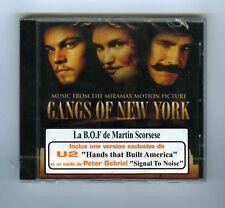 CD (NEW) OST GANGS OF NEW YORK U2 PETER GABRIEL