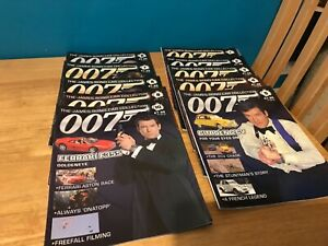 James Bond car collection magazines only.