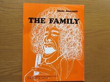 FAMILY - MOUNTAIN - STRAWBS - PROCOL HARUM 1970's SHOW SOUVENIR BROCHURE EX