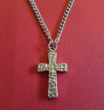 Cross Necklace Long Chain 60cm stainless steel and Pendant family