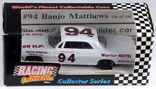 Racing Collectables Collector Series #94 Banjo Matthews 1/64 1993 New In Box
