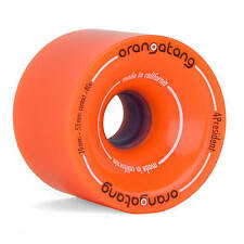 Orangatang 4 President Wheels Longboard Rollen 70mm 80A orange - Slalom Cruisen