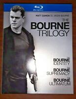 The Bourne Trilogy (Blu-ray Disc, 2010, 3-Disc Set) Matt Damon