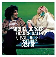 """CD """"MICHEL BERGER FRANCE GALL QUAND ON EST ENSEMBLE"""" NEUF SOUS BLISTER"""