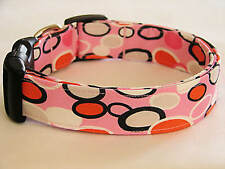 Charming Pink W/ Bangle Dots Dog Collar