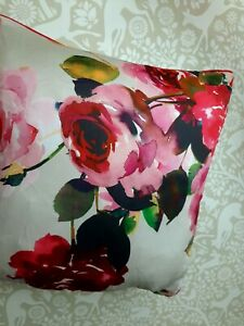 Dorma Roses square cushion 45 x 45cm new!