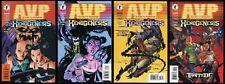 Aliens vs Predator Xenogenesis Comic set 1-2-3-4 Lot Dark Horse AvP Mel Rubi art