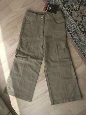 Tom Tailor Kinder Mädchen Jeans Gr. 104 braun Bein gerade oder Schlag Baumwolle