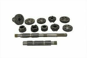 Transmission Gear Set Stock Ratio for Harley Davidson by V-Twin