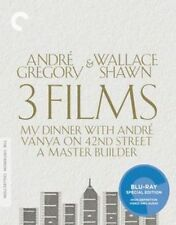 Andre Gregory and Wallace Shawn 3 Films Blu-ray The Criterion Collection