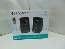Logitech Multimedia Speakers Z150 with Stereo Sound for Multiple Devices, B